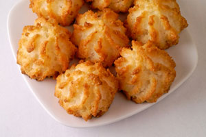 Collection of coconut cookie recipes