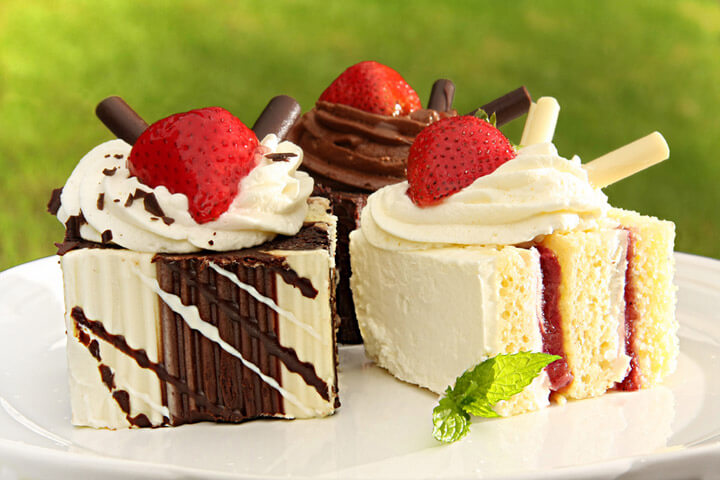 Collection of dessert recipes