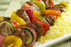 Collection of beef kabobs recipes