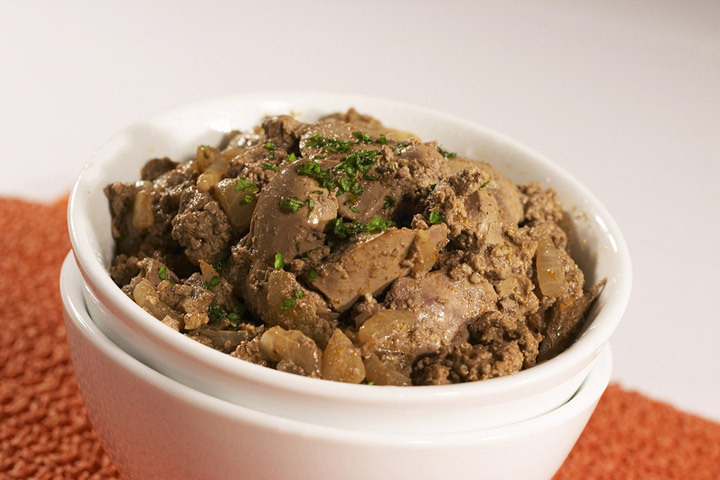Chicken liver appetizer recipes cdkitchen chicken liver appetizers forumfinder Image collections