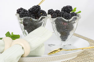 Collection of blackberry dessert recipes