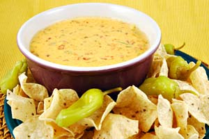 Collection of chili con queso recipes
