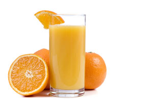Collection of orange drinks recipes