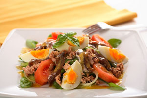 Collection of pork salad recipes