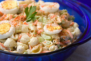 Collection of macaroni pasta salad recipes