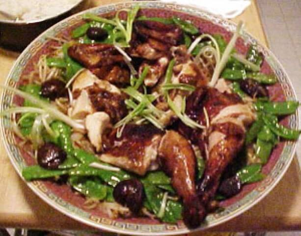 Chinese roast chicken with bean sprouts and snow peas recipe photo of chinese roast chicken with bean sprouts and snow peas forumfinder Choice Image
