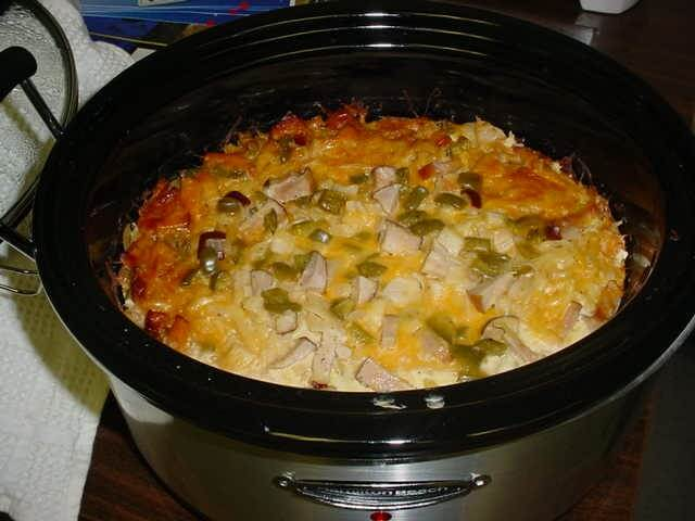 Crock o 39 breakfast recipe for Crockpot breakfast casserole recipes