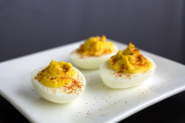 Classic Deviled Eggs Recipe | CDKitchen.com