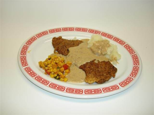 Texas-Style Chicken Fried Steak with Cream Gravy Recipe | CDKitchen ...