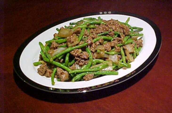 Photo Of Chinese Long Beans With Ground Beef