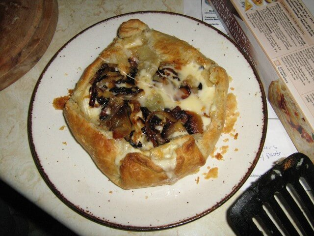 Baked Brie with Caramelized Onions Recipe | CDKitchen.com