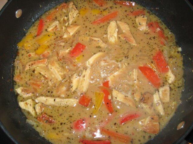 photo of olive garden chicken scampi - Olive Garden Chicken Scampi