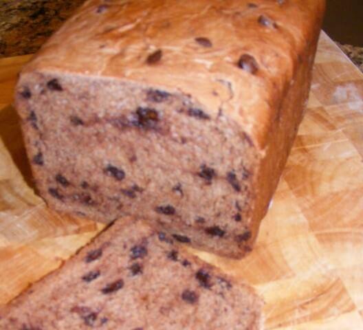 Bread Machine Chocolate Chip Bread Recipe Cdkitchen Com