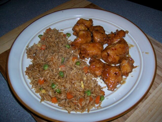 Copycat panda express orange chicken recipe cdkitchen photo of panda express orange chicken forumfinder Choice Image