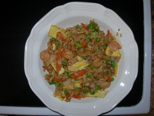Copycat P F Chang S Shrimp Fried Rice Recipe Cdkitchen Com