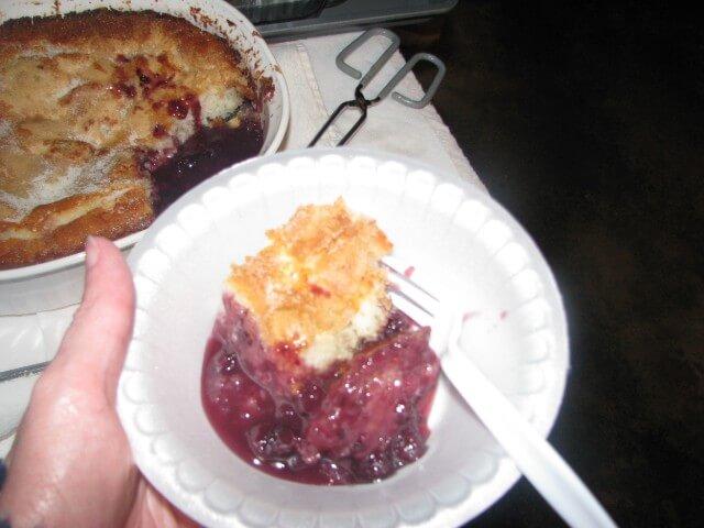 Bisquick One Pan Fruit Cobbler Recipe Cdkitchen Com