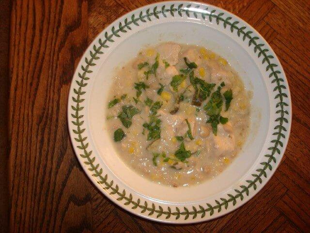 Crock Pot White Chicken Chili Recipe Cdkitchen Com
