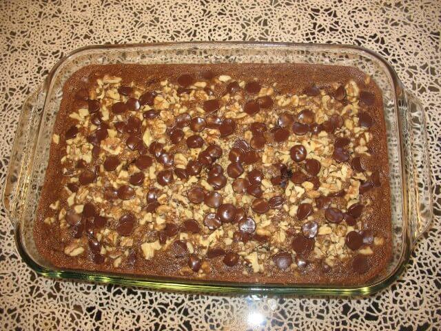 Chocolate Chip Oatmeal Cake Recipe | CDKitchen.com