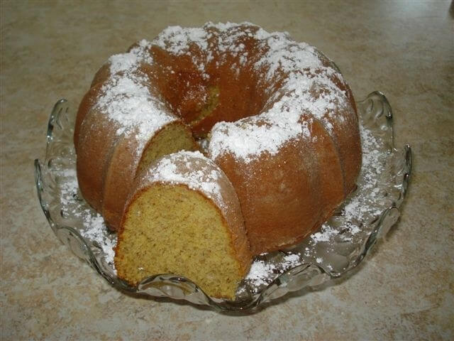 Cake Mix Banana Pound Cake Recipe From Cdkitchen Com