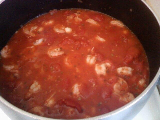 Fra Diavolo Sauce With Pasta Recipe | CDKitchen.com