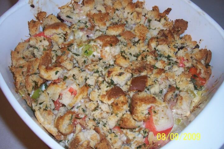 Baked seafood casserole recipe for Fish casserole recipes