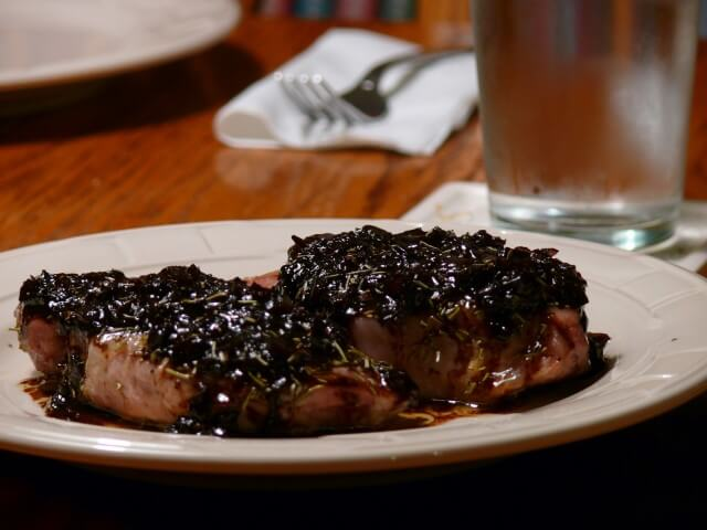 Rosemary Pork Chops With A Shallot-Balsamic Sauce Recipe | CDKitchen ...