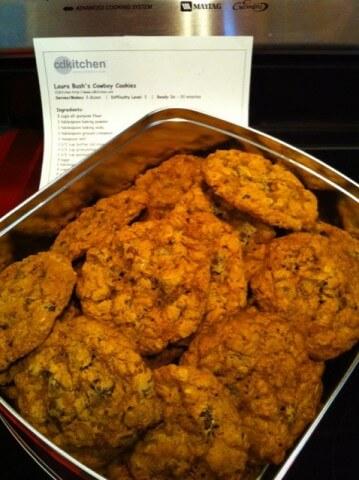 George w bush cookie recipe