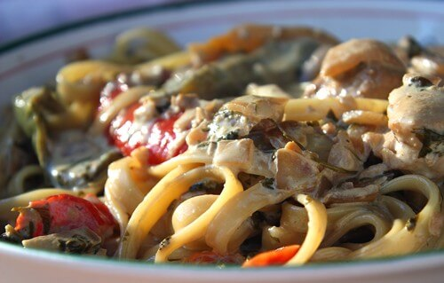 Copycat California Pizza Kitchen Chicken Tequila Fettuccine Recipe ...