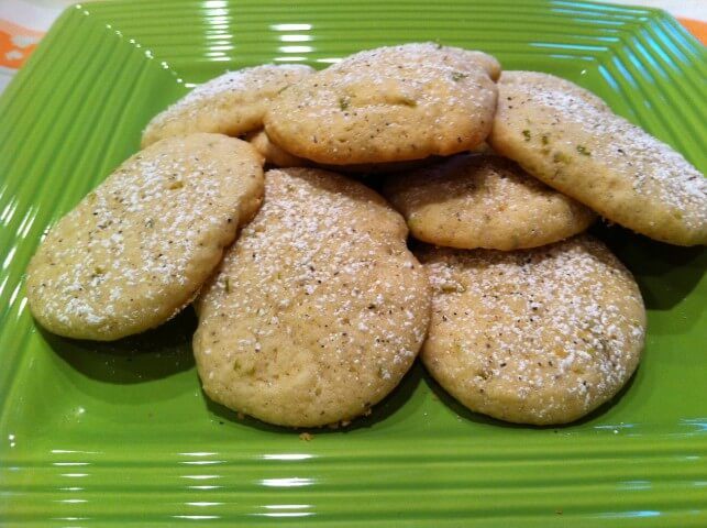 Lime And Black Pepper Cookies Recipe | CDKitchen.com