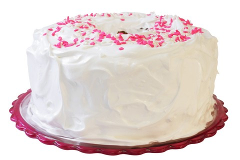 Fabulous Angel Food Cake Icing Recipe Cdkitchen Com Funny Birthday Cards Online Inifofree Goldxyz