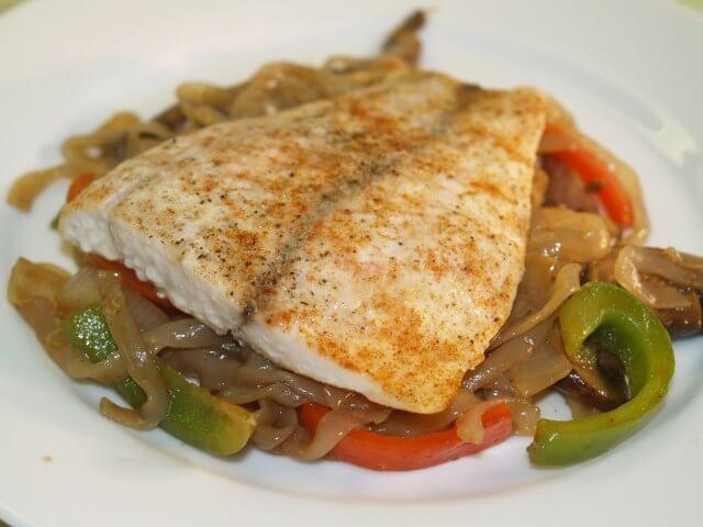 Five spice barramundi with hoisin shirataki noodles recipe for Barramundi fish taste