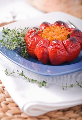 photo of 4 Ingredient Stuffed Peppers
