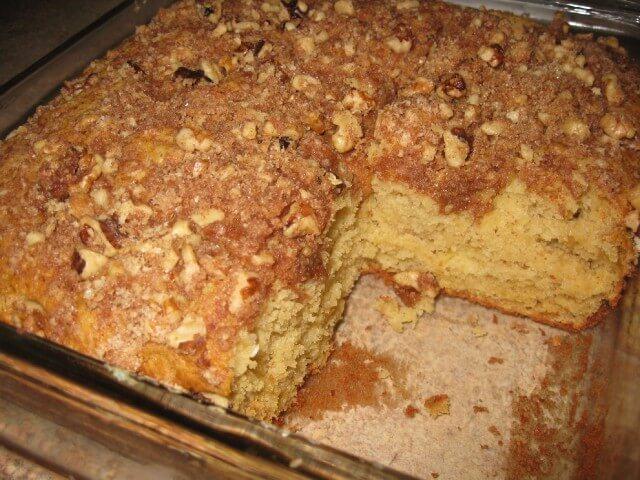 Jewish Chocolate Chip Coffee Cake Recipe