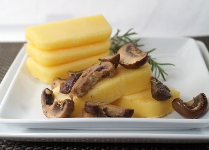 ... appetizer. The pre-made polenta has this recipe ready in mere minutes