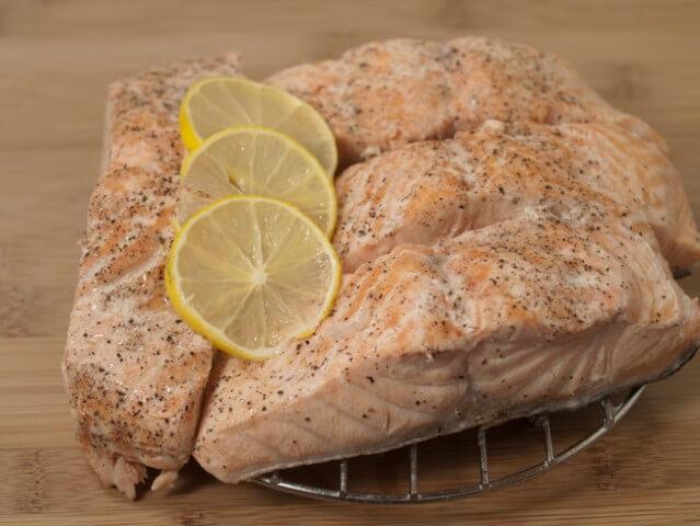 Pressure cooker salmon steaks recipe for Pressure cooker fish recipes