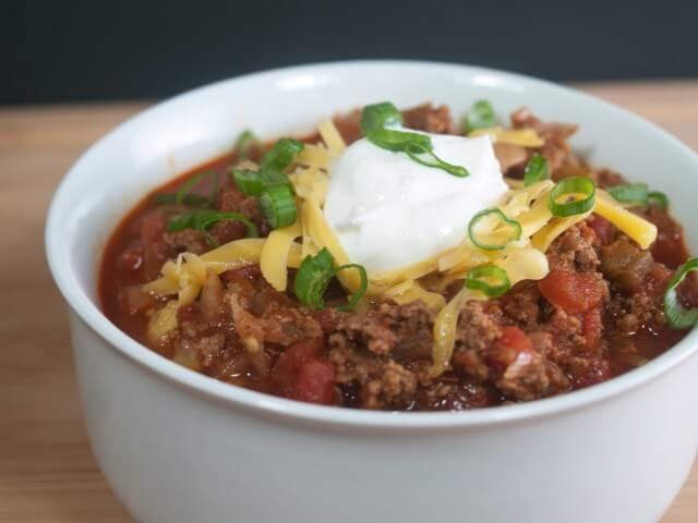 Spicy Southwestern Slow Cooker Chili