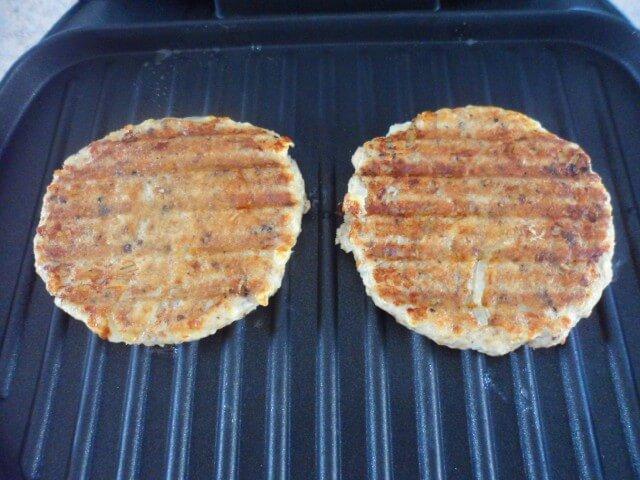 Lowfat Salmon Patties George Foreman Grill Recipe Cdkitchen Com