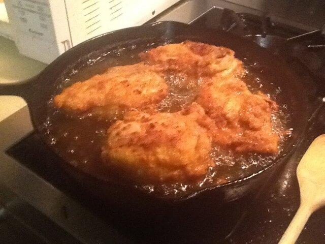 Buttermilk Brined Fried Chicken Recipe From Cdkitchen Com