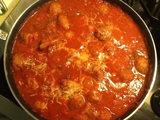 Traditional Spaghetti Amp Meatballs Recipe Cdkitchen Com