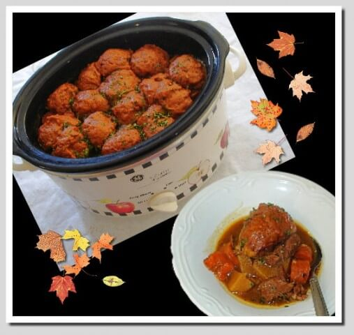 Crock Pot Beef Stew With Dumplings Recipe Cdkitchen Com