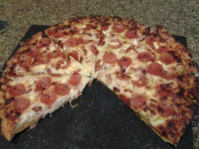 recipe: pizza dough in bread machine with all purpose flour [21]