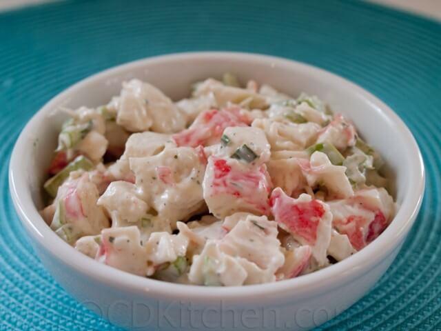Copycat Golden Corral Crab Salad