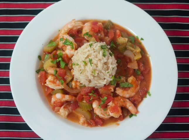 slow cooked version of authentic shrimp creole made with the holy ...