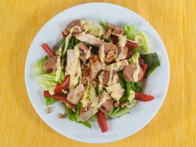 Grilled Cajun Chicken Salad Recipe   CDKitchen.com