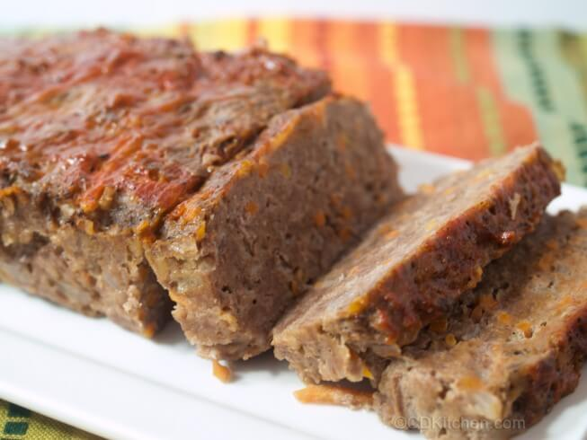 Healthy Hearty Meat Loaf Recipe