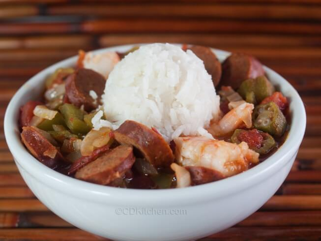 recipe for bayou gumbo