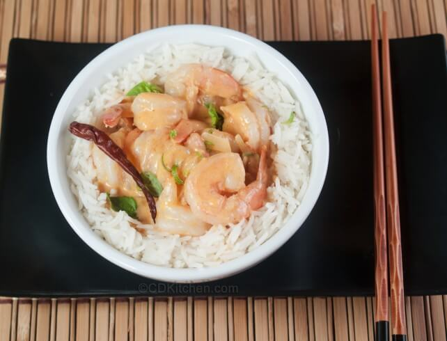 Thai Coconut Shrimp Curry With Red Curry Paste Recipe | CDKitchen.com
