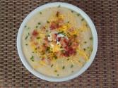 Copycat Bob Evans Cheddar Baked Potato Soup Recipe
