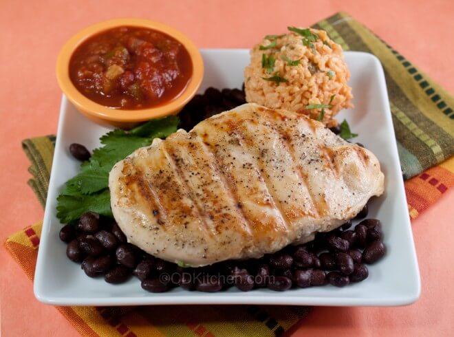 Chili S Margarita Grilled Chicken Recipe Cdkitchen Com