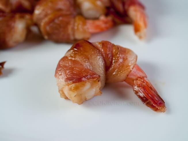 Bacon Wrapped Teriyaki Shrimp Recipe | CDKitchen.com